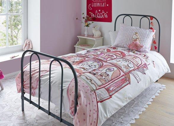 Beddinghouse dekbedovertrek Sweet Palace pink