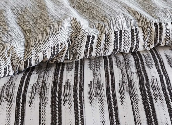 Essenza Home dekbedovertrek Berber antraciet