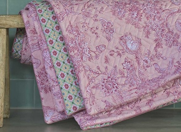Pip studio quilt Hide and Seek roze