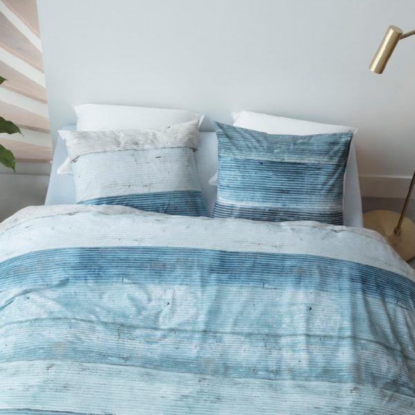 At Home dekbedovertrek Lived Blue