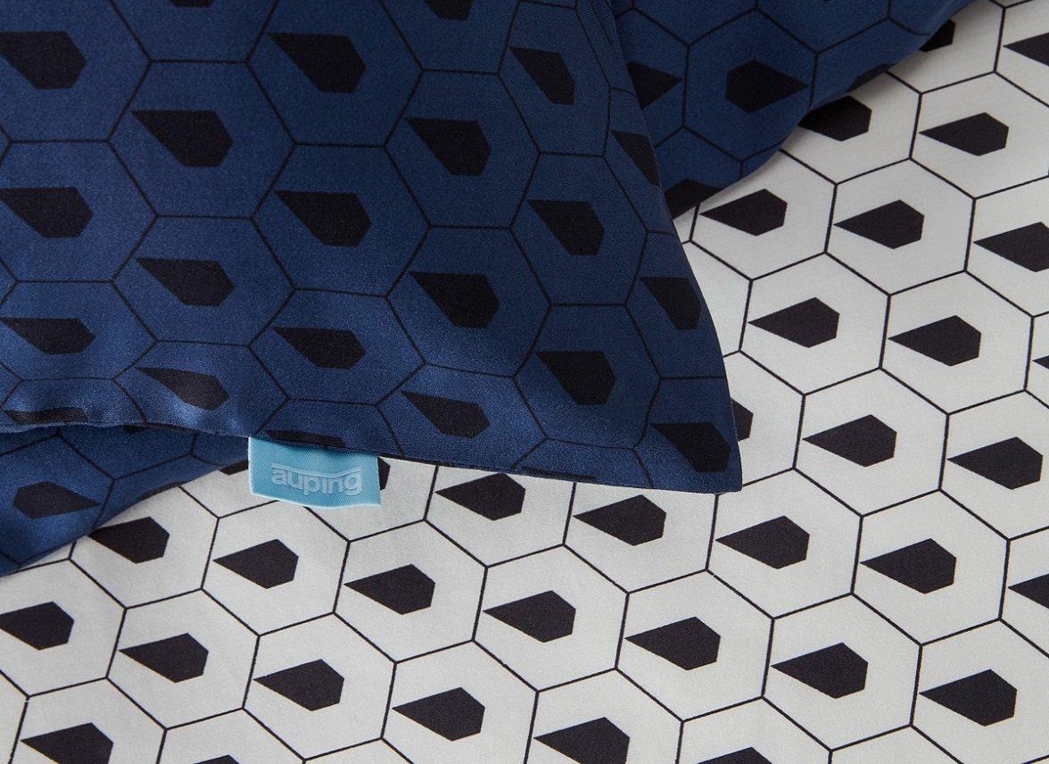 Auping dekbedovertrek Osaka blue