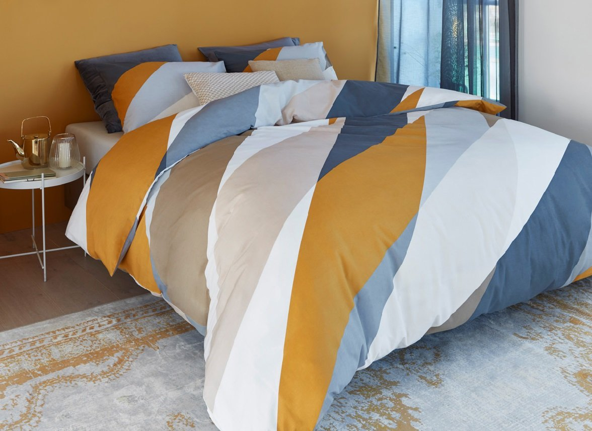 Beddinghouse dekbedovertrek Domingo gold