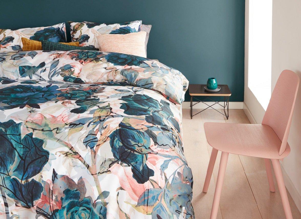 Beddinghouse dekbedovertrek Moos bluegreen