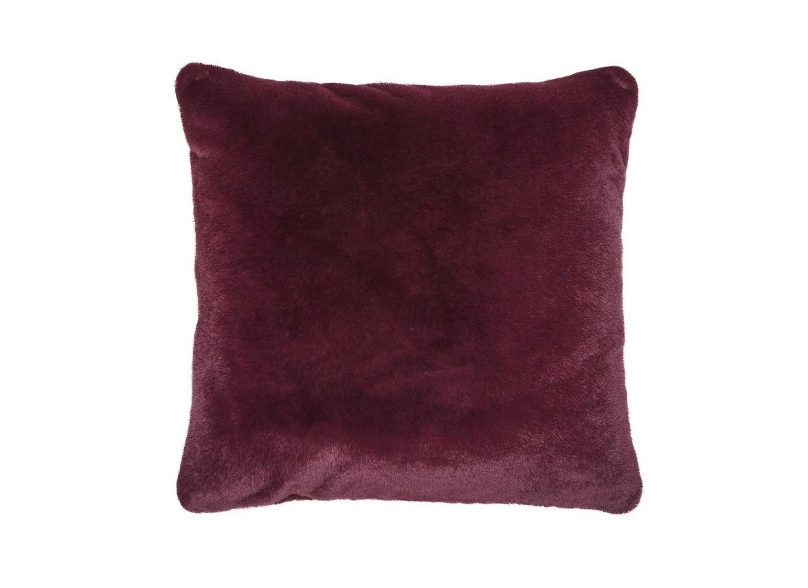 Essenza Home sierkussen Furry burgundy