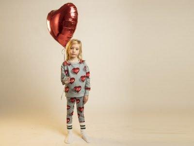 Snurk Homewear I Heart Balloon broek kinderen