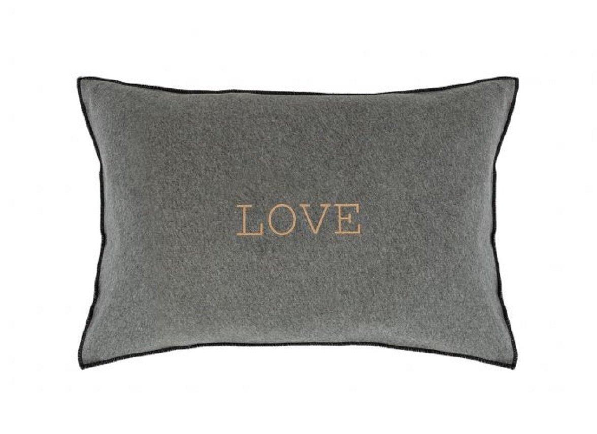 House in Style sierkussen Love light grey