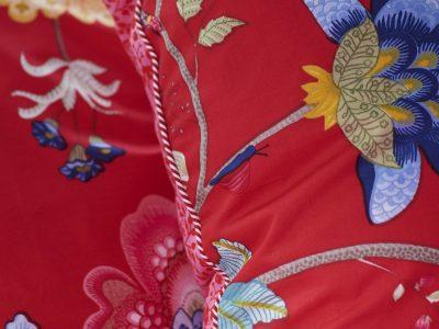 Pip Studio sierkussen Floral Fantasy red 45×45