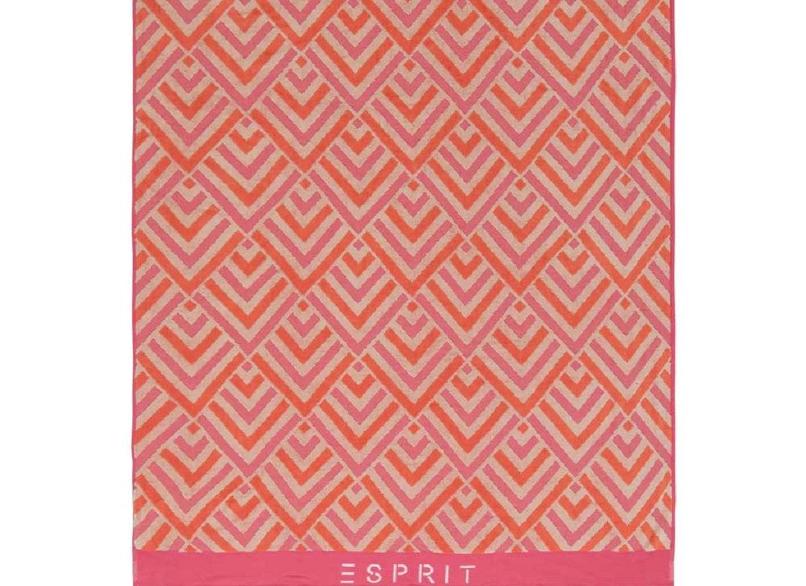 Esprit strandlaken Zora pink
