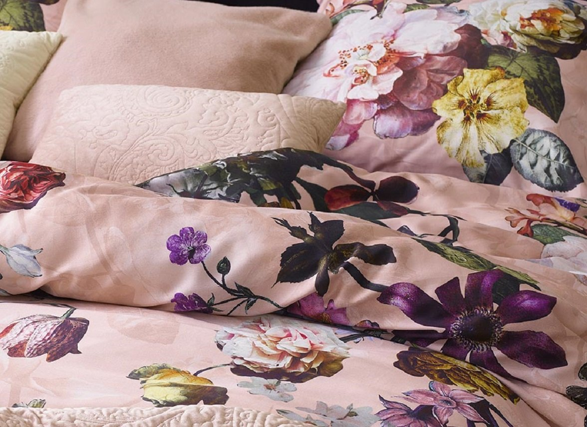 Essenza Home dekbedovertrek Fleur rose