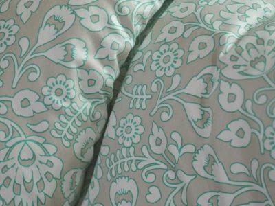 Esprit dekbedovertrek Folk Floral turquoise