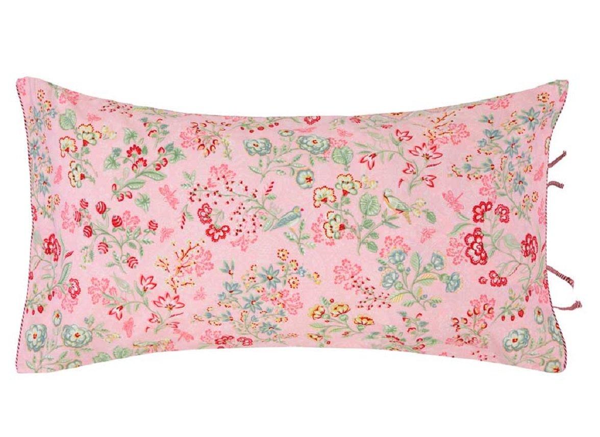 Pip Studio sierkussen Jaipur Flower roze 35x60