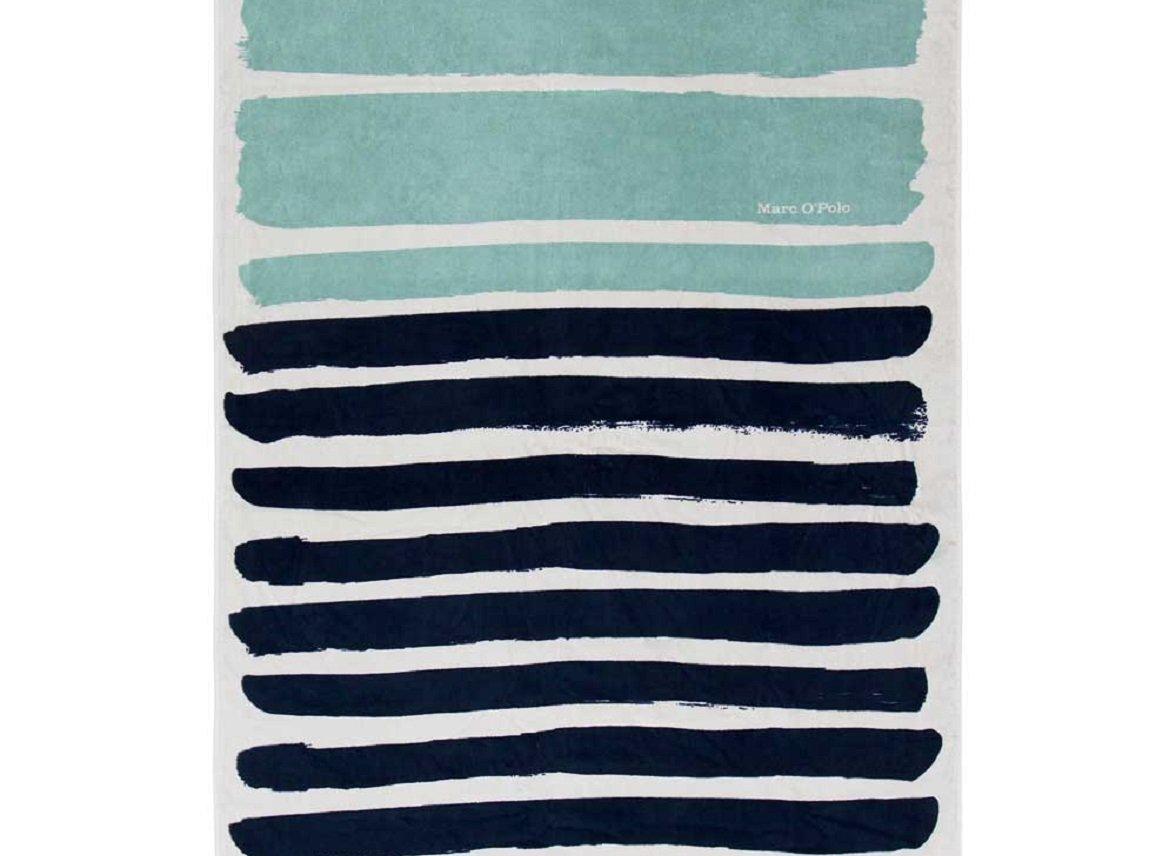 Marc O'Polo strandlaken Mayari ocean blue