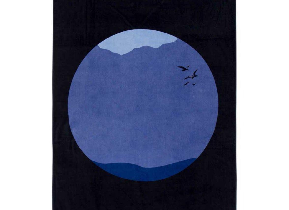 Marc O'Polo strandlaken Sea Circle night blue