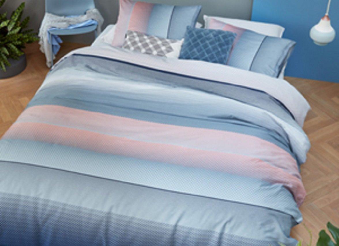 Beddinghouse dekbedovertrek Senn blue