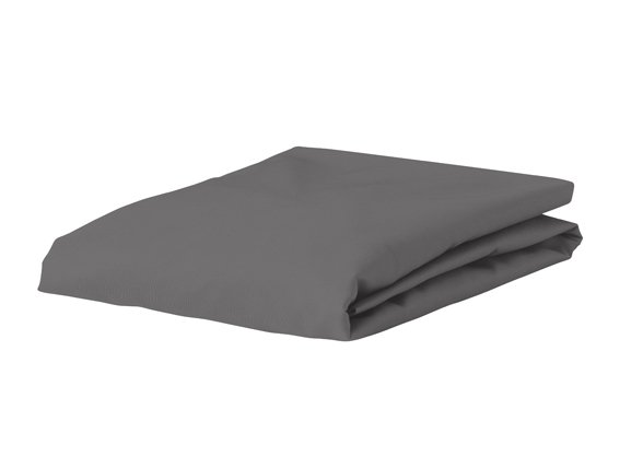 Morph Design satijn hoeslaken 300tc, olifantgrijs
