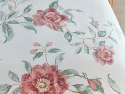Beddinghouse dekbedovertrek Rosette pink