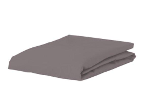 Morph Design satijn hoeslaken 300tc, muisgrijs