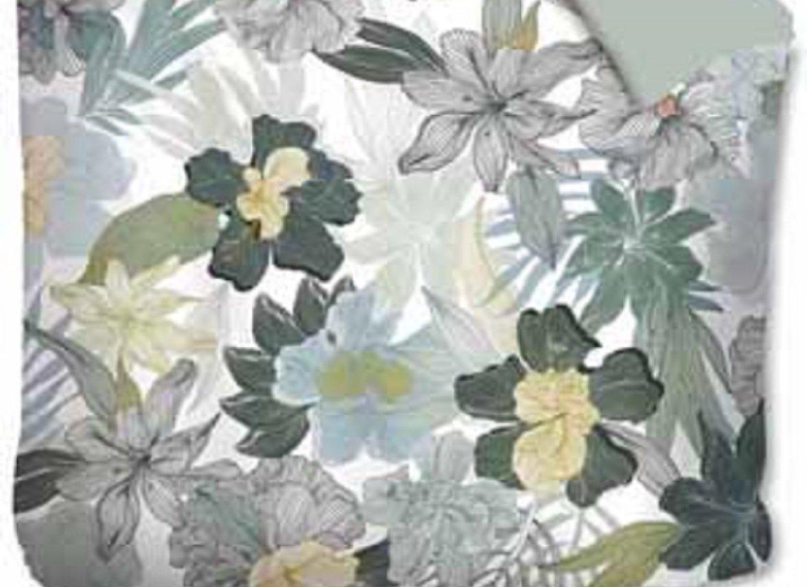 Oilily dekbedovertrek Botanical Garden green