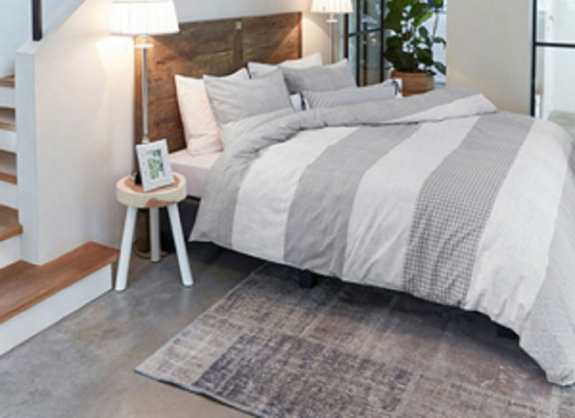 Riviera Maison dekbedovertrek Copenhagen grey