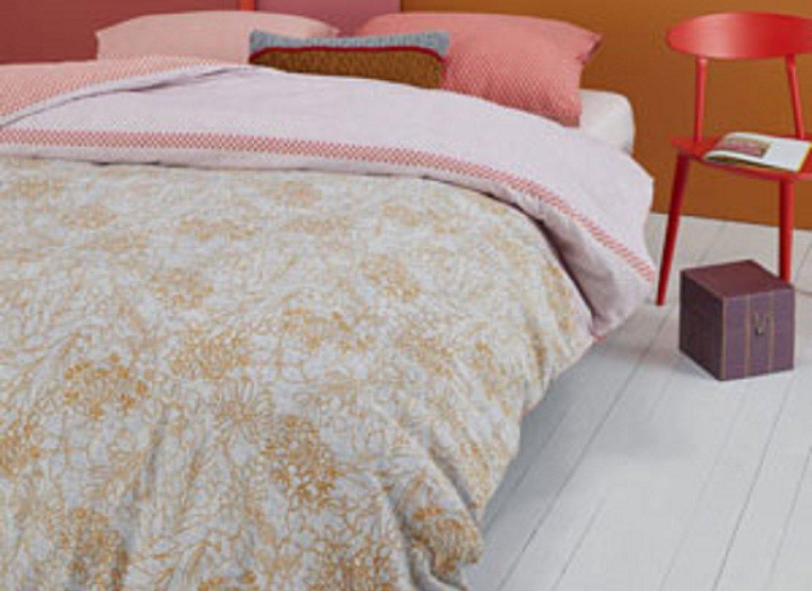 Oilily dekbedovertrek Fineliner soft pink