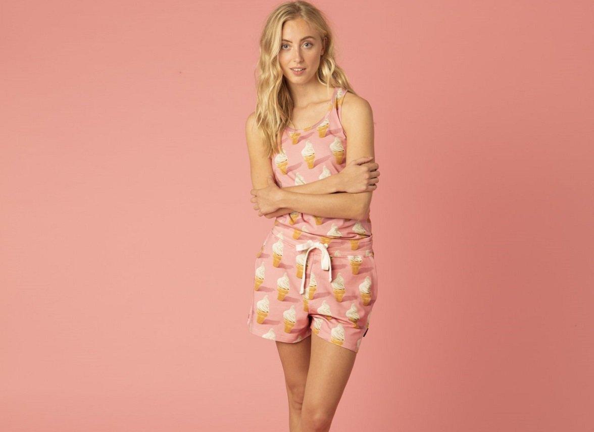 Snurk Homewear Icecream Short Dames