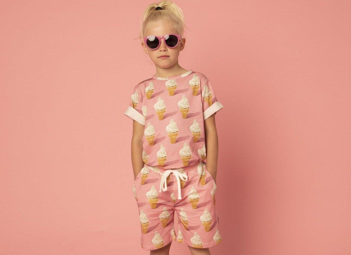 Snurk Homewear Icecream T-shirt kinderen