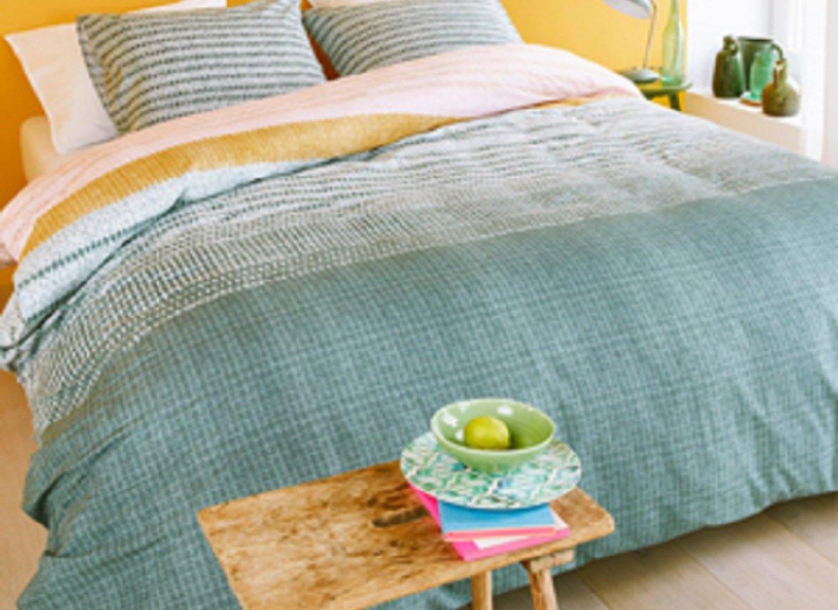 Beddinghouse dekbedovertrek Java grey green