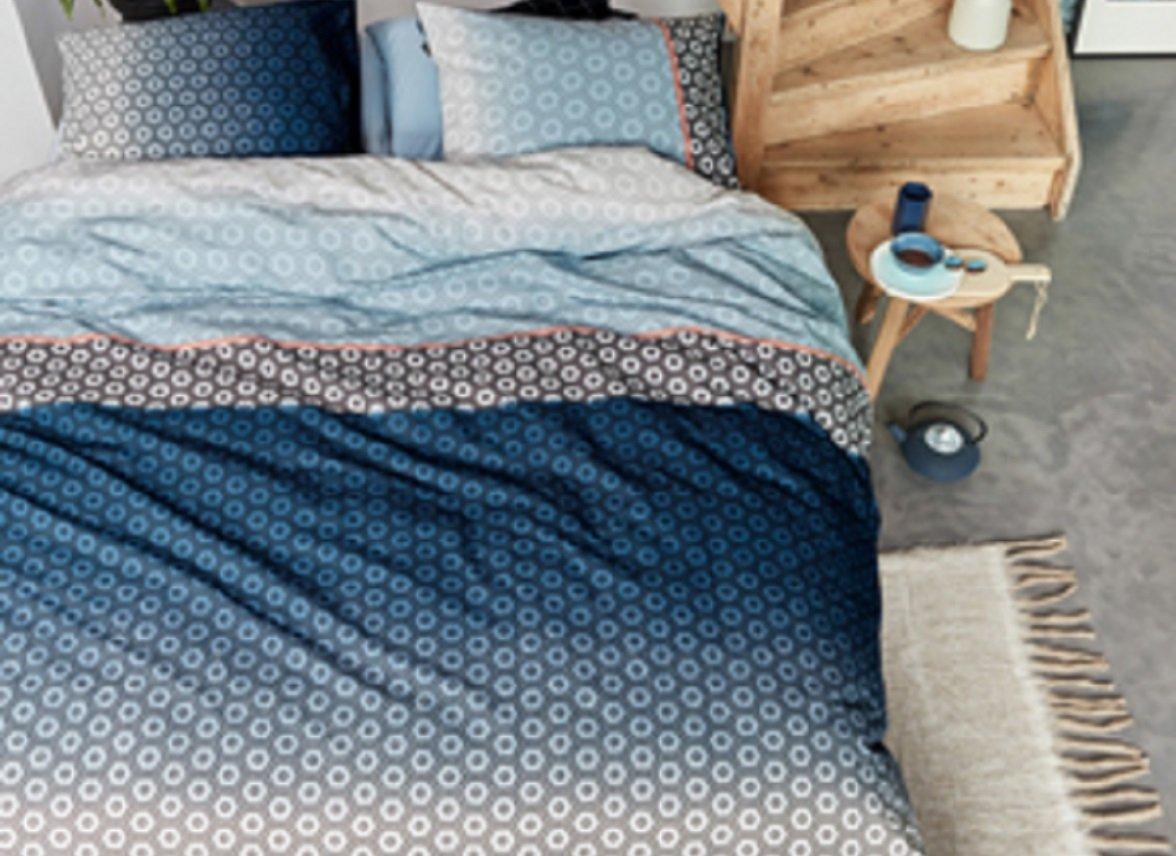 Beddinghouse dekbedovertrek Mare blue