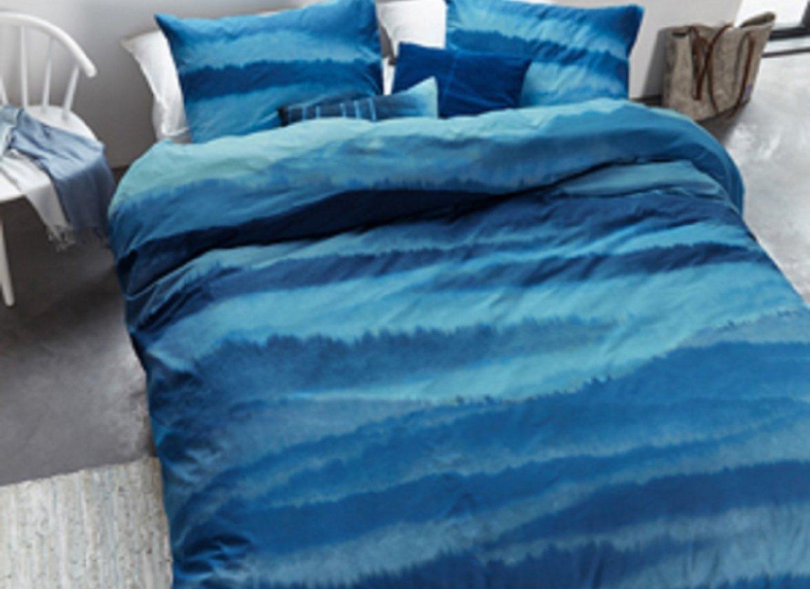 Beddinghouse dekbedovertrek Mountain View blue