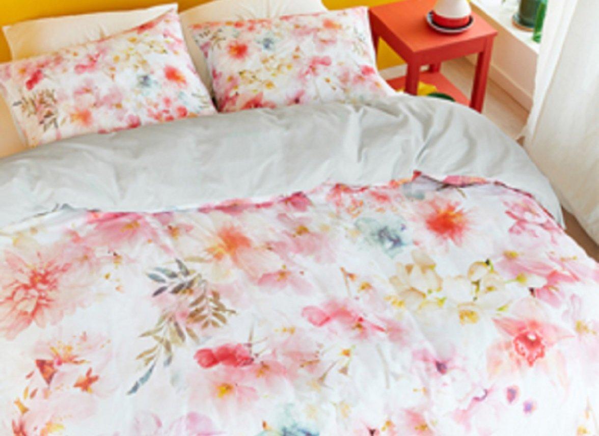 Beddinghouse dekbedovertrek Plaisir pastel