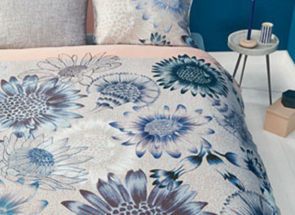 Oilily dekbedovertrek Sunflowers blue
