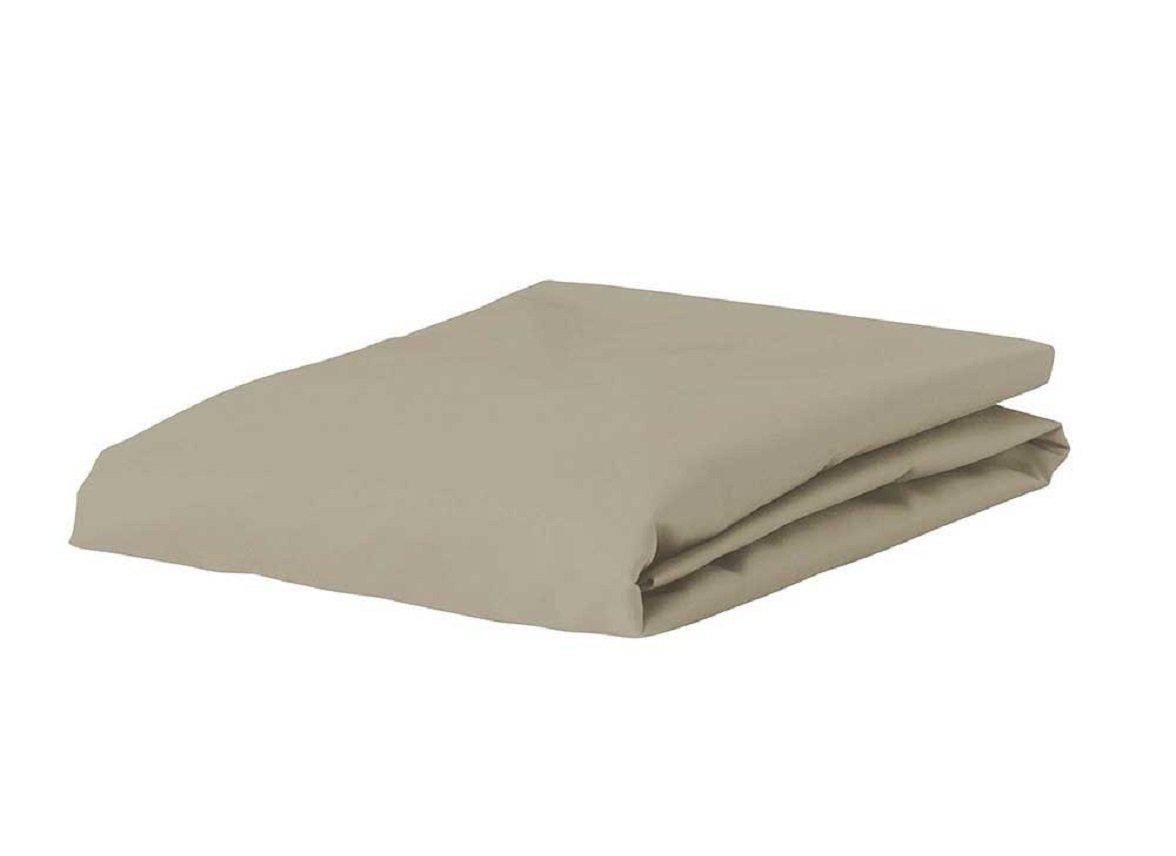 Essenza Home Premium Jersey hoeslaken, klei