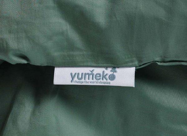 Yumeko dekbedovertrek satijn deep green
