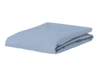 Morph Design satijn hoeslaken 300tc, licht blauw