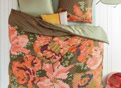 Oilily dekbedovertrek Embroidered Flower multi