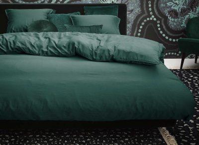 Essenza Home dekbedovertrek Minte green