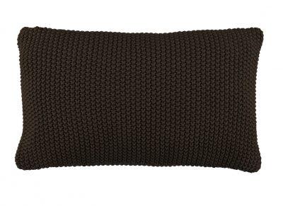 Marc O'Polo sierkussen Nordic Knit earth brown 30x60