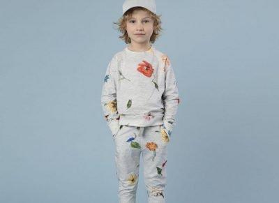 Snurk Homewear Knitted Flowers broek kinderen