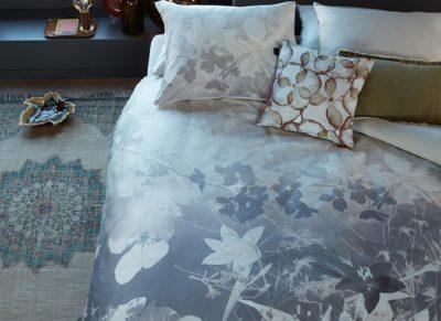 Beddinghouse dekbedovertrek Misty Floral grey