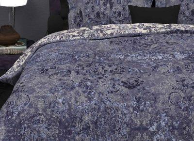 Heckett Lane dekbedovertrek Walsh velvet blue