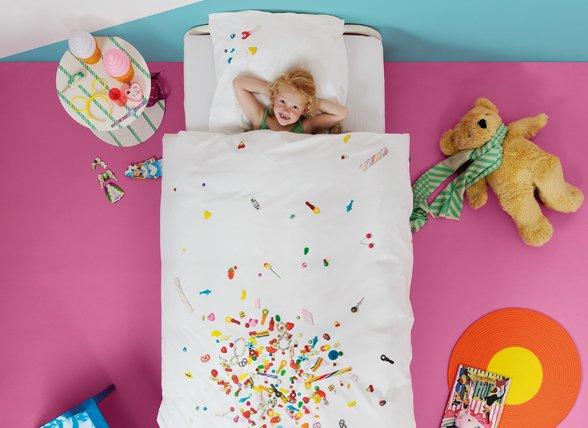 Snurk dekbedovertrek Candy Blast