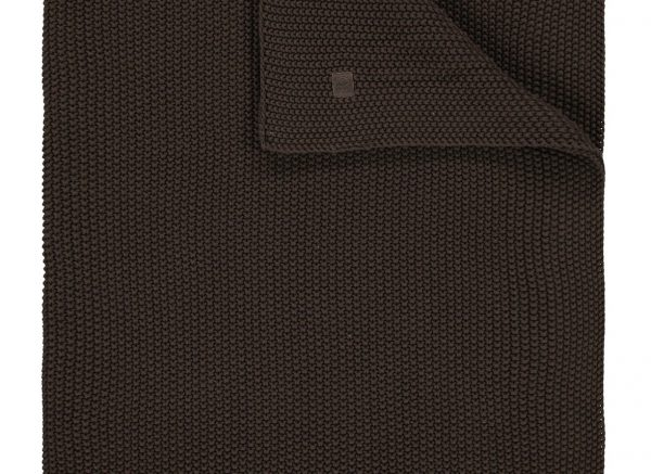 Marc O'Polo plaid Nordic Knit earth brown