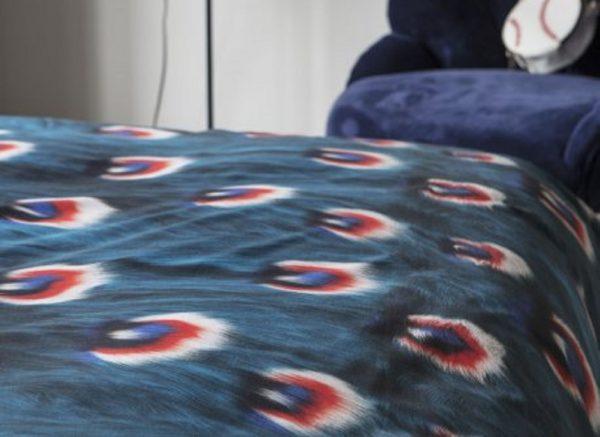 Snurk dekbedovertrek Peacock