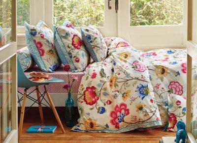 Pip Studio dekbedovertrek Floral Fantasy ecru