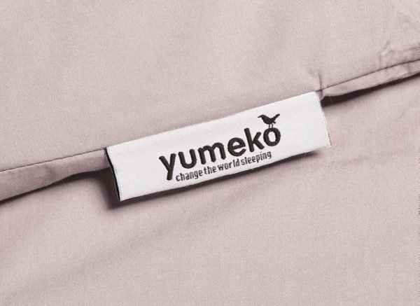 Yumeko dekbedovertrek perkal 300TC pale rose