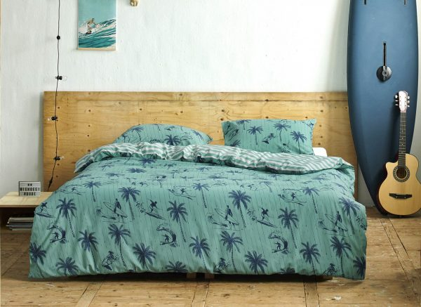 Covers & Co dekbedovertrek Miko turquoise