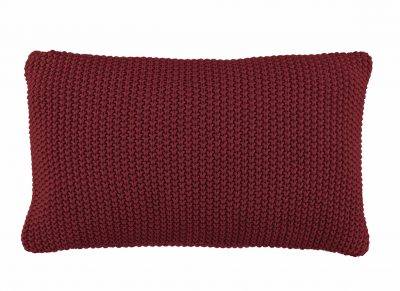 Marc O'Polo sierkussen Nordic Knit red 30×60