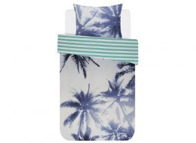 Covers & Co dekbedovertrek Palmera blue