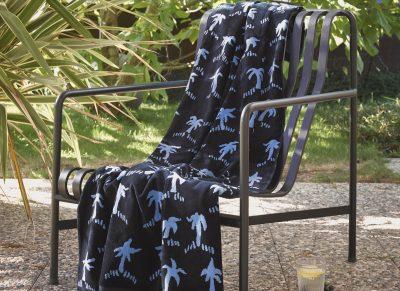 Marc O'Polo strandlaken Palms blue