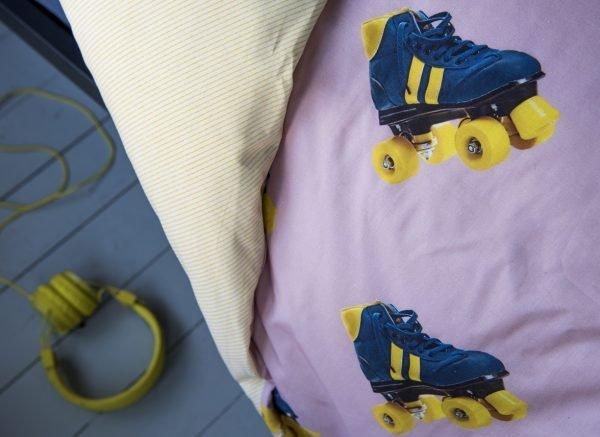 Snurk dekbedovertrek Rollerskates